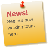 News! See our new walking tours here
